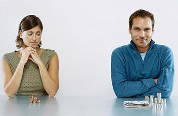 взыскание и размер денежных выплат на бывшую жену
