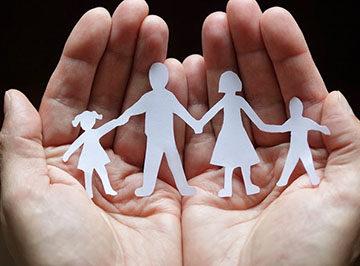 определение детей в семью