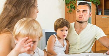 развод с детьми