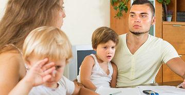 развод и определение места жительства ребенка